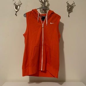 Nike Zip up Vest | Large